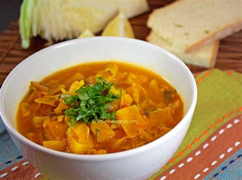 Spicy Cabbage Detox Soup by A Warm Spicy Detox Cabbage Soup The Choice For