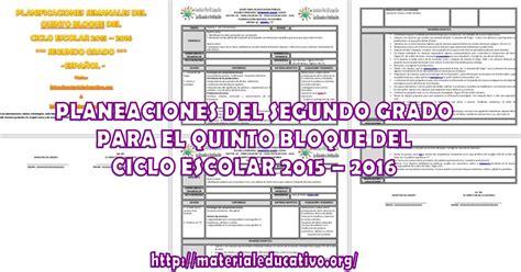 zona 114 planeaciones 2015 2016 planeaciones quinto grado 5 bloque 2015 2016 planeaciones