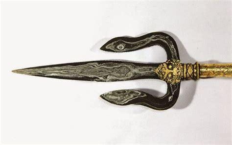 Senjata Trisula 3 senjata tradisional sumatera selatan yang penuh akan makna