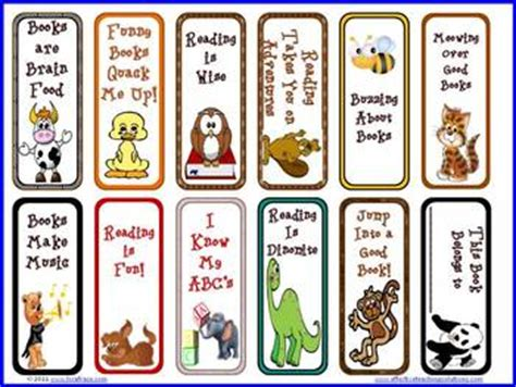 printable good luck bookmarks free cute animal mini bookmarks for reading by lisa frase