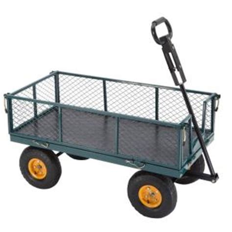 700 lb steel utility cart sc100d2 the home depot