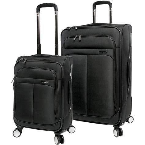 Elizabeth Bag Perry Suitcase Black perry ellis prodigy lightweight spinner luggage set
