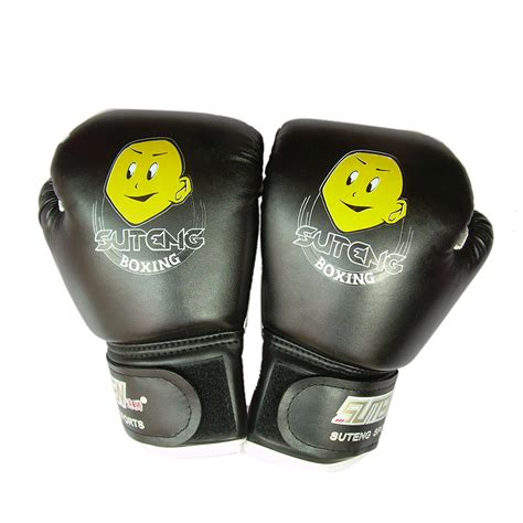 Thai Boxing Gloves 1pair ღ ღhigh quality child ᗖ 1 1 pair durable boxing gloves sparring sparring kick fight