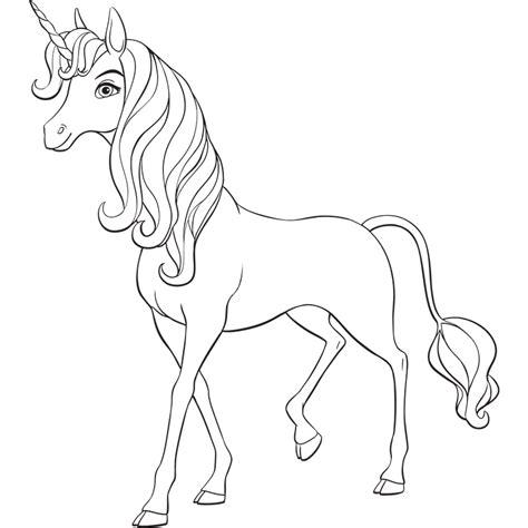 Superior Livre De Coloriage Magique #9: Coloriage-licorne-14834.png