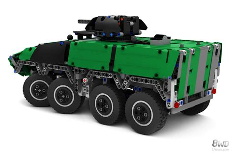 for vehicle lego technic gtk boxer armoured vehicle 8wd