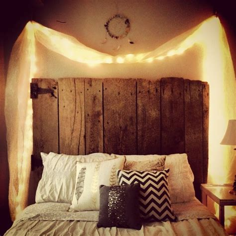 Light Wood Headboard 1000 Images About Future Home On Pinterest Headboards Reclaimed Wood Headboard And Lights