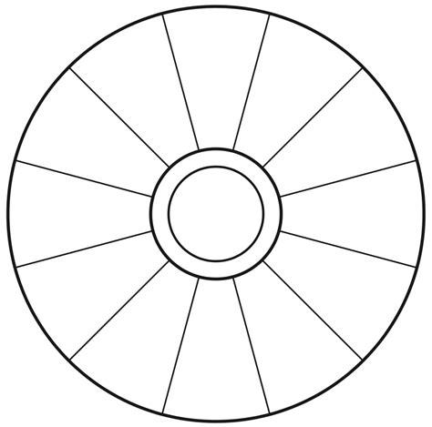 Focus Template Empty Focus Wheel To Print Vortexfocus