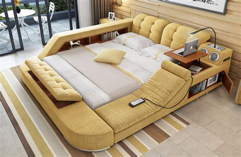 tatami tisch tatami multimedia bed has built in chair and pop