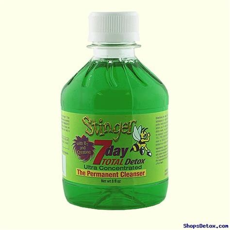 Speed Up Thc Detox by Stinger 7 Day Total Detox Drink