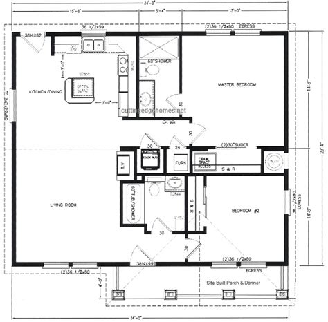 2br House Plans 2br 2ba 997 Sq Ft Cutting Edge Export