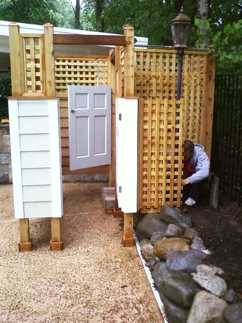 outdoor changing room 17 best images about outside changing rooms on