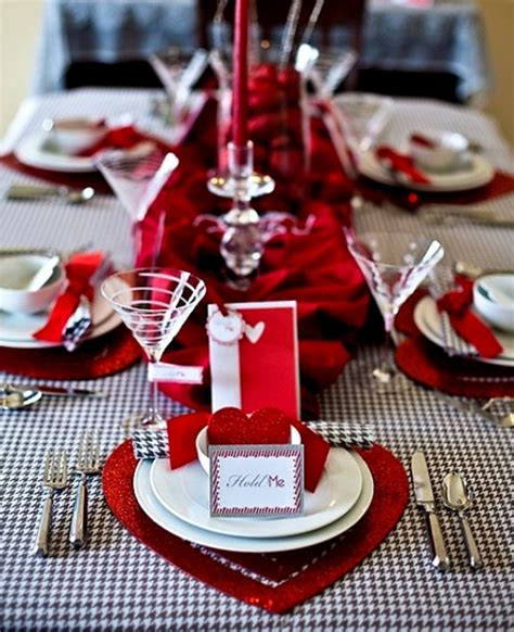 valentine dinner table decorations 30 romantic valentines day decorations ideas magment