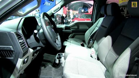2015 F 150 Xlt Interior by 2015 Ford F150 Xlt At 2014 Detroit Auto Show