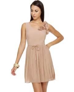 Blush dress dressed up girl