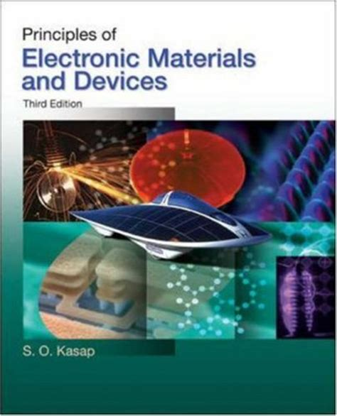 Principles Of Electronic Materials And Devices 3 Edition