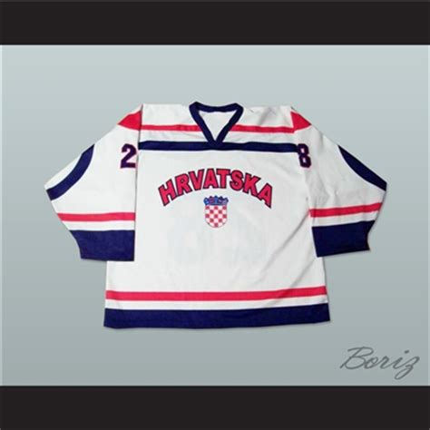 Jersey Go Croatia Home croatia national team hockey jersey