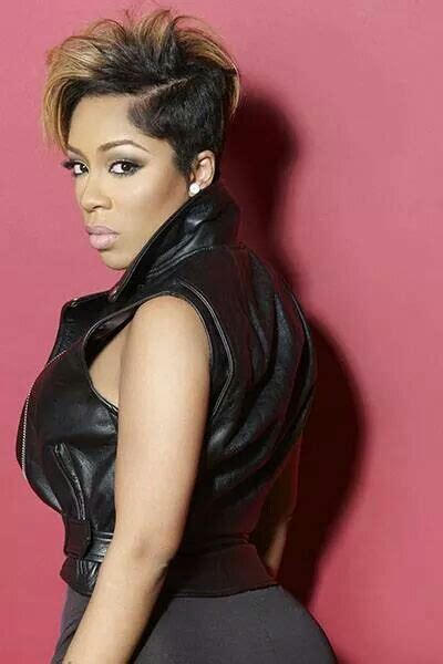 hiphop haircut 2015 k michelle love hip hop blonde short hair all black