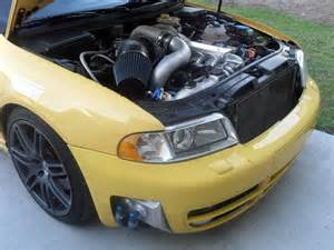 Audi S4 B5 Single Turbo B5 S4 Big Single Turbo Kit Designed For 1350 Chp