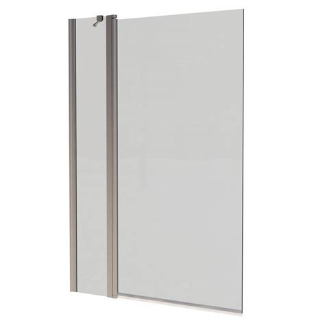 hinged bath shower screens hinged bath screen victoriaplum