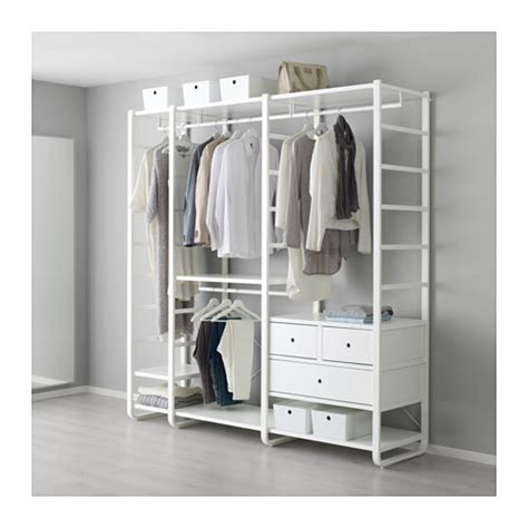 Clothes Storage Systems In Bedrooms Elvarli 3 Sections Ikea