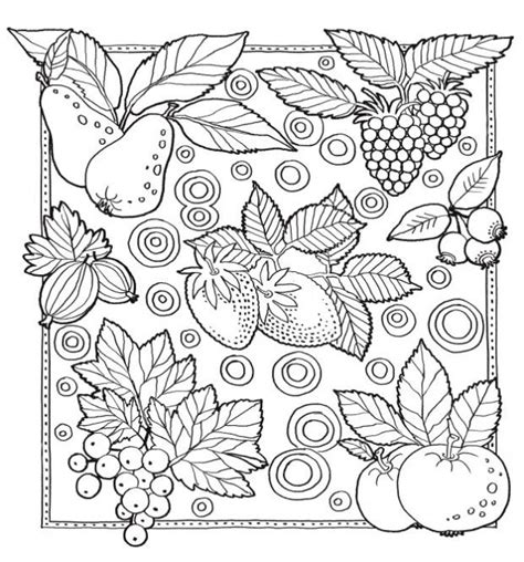coloring pages for adults vegetables 1000 images about fruits and vegetables on pinterest