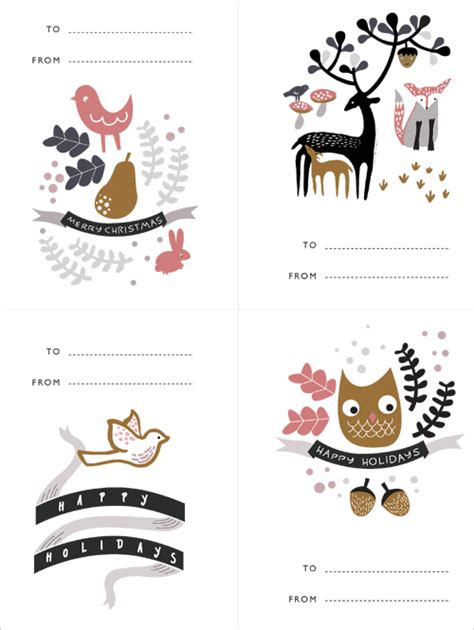staples scallop cards template gift tags hello gifts and tags on