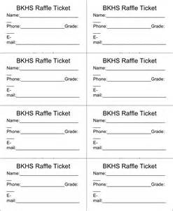 Free raffle ticket template 3 doc pdf 1 page s
