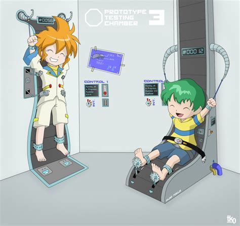 Yu And Kenta Tickled By Tk Art On Deviantart