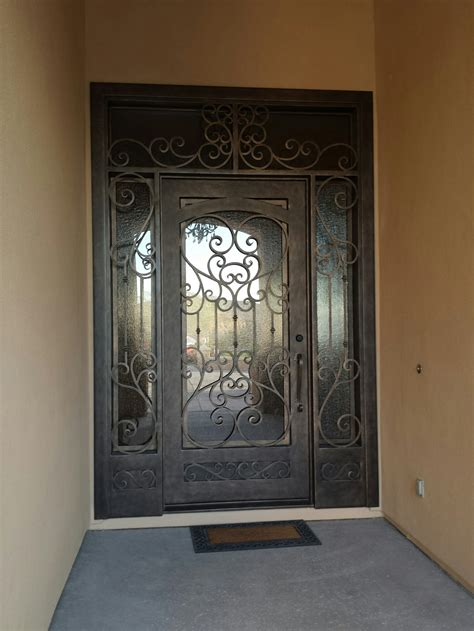 Best Material For Kitchen Backsplash Wrought Iron Entry Doors Home Ideas Collection Best
