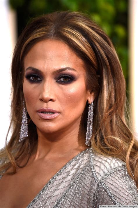 jlo hair color 2015 2015 jennifer lopez golden globes makeup