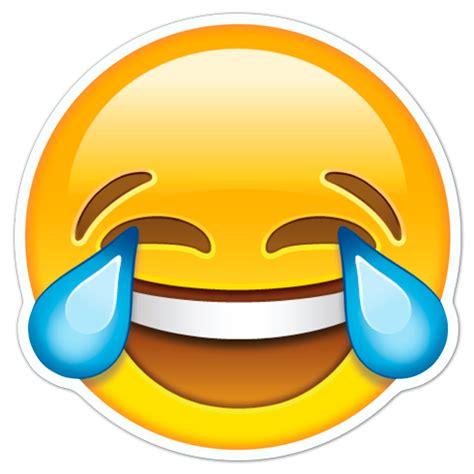 imagenes llorando de alegria pegatina cara riendo con l 225 grimas de alegr 237 a