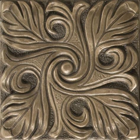 2x2 Metal Accent Tiles by 2x2 Decorative Tile Inserts Decorative Design