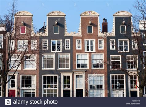 home design stores amsterdam traditional historic dutch gable houses beside canal in