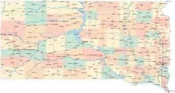 south dakota road map sd road map south dakota highway map