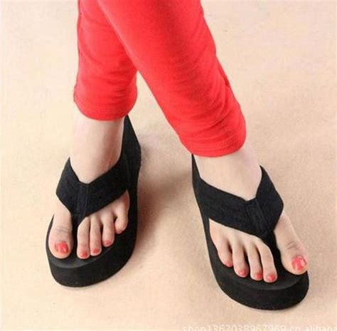 rainbow sandals track order wedge platform flip flops summer sandals shoes