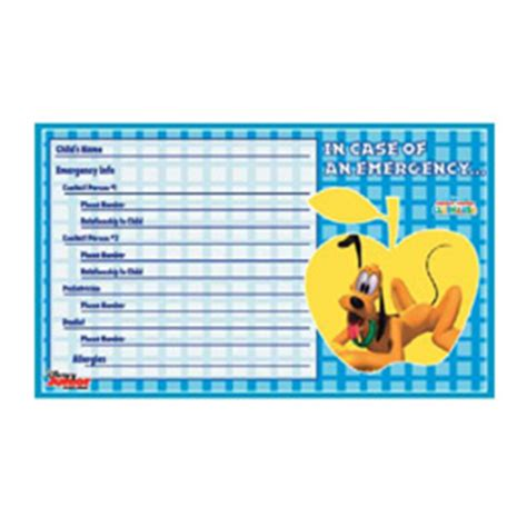 school emergency card template in of emergency card template twpiratebay