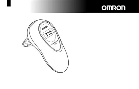 Omron Digital Ear Thermometer Mc 510 omron healthcare thermometer 510 user s manual free pdf