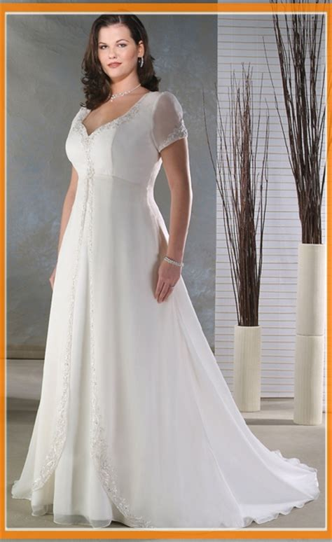 casual plus size wedding dresses prom dresses