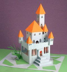 Blumenstrauß Basteln Aus Papier 3278 by Free Template To Make This Cool Simple House Pop Up