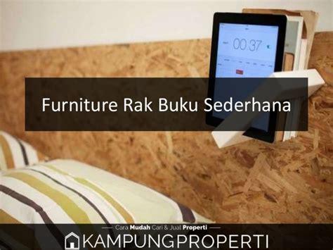 Jual Rak Buku Sederhana jual distributor supplier pabrik furniture rak buku
