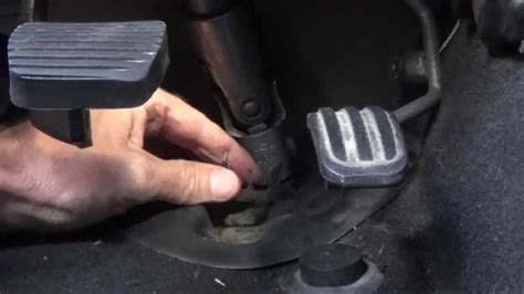 steering column universal joint remove refit step