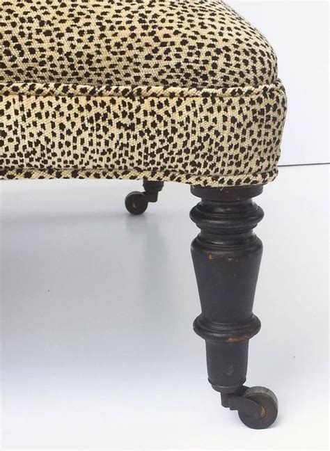 ottoman legs for sale upholstered ottoman on turned legs for sale at 1stdibs