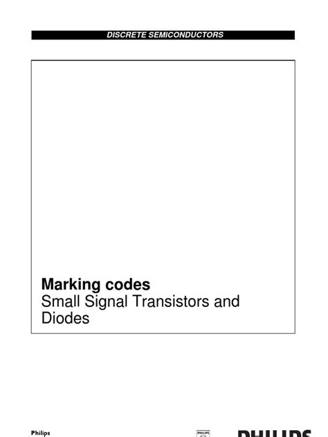 diode marking code sg smd philips marking codes small signal transistors and diodes