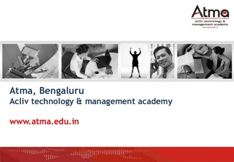 Atma Mba Official Website by Atma College Introduction For Placements V3 Mba 2014 16 Batch