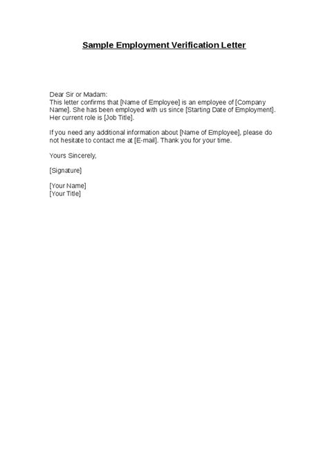 salary verification letter sample income verification letter proof
