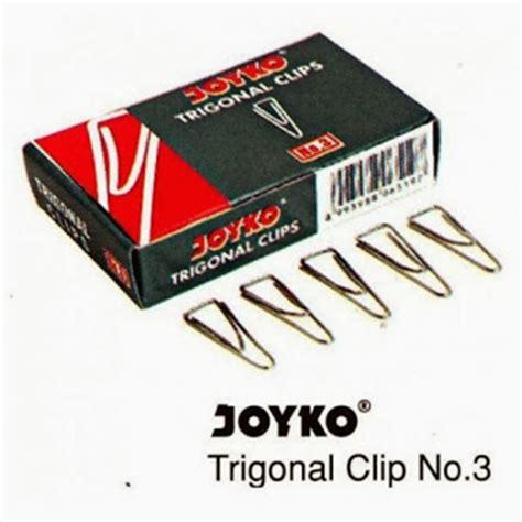 Combo Trigonal Paper Clip No 3 alat tulis kantor paper clip joyko no 3