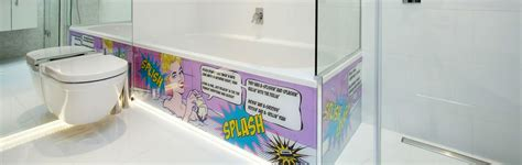 splash panels for bathroom bathroom splashbacks glass splashbacks glartique