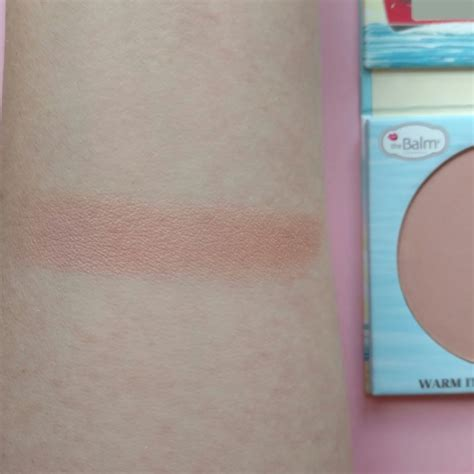 Blush On Sephora Indonesia the balm balm blush in one click