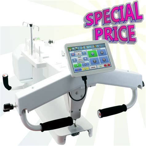 long arm quilting sewing quilting embroidery machines brand new king quilter limited edition 18x8 long arm
