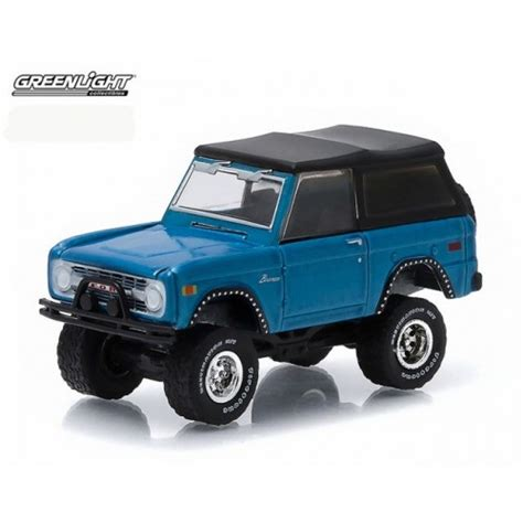 Greenlight 1966 Ford Bronco All Terrain cars automotive troy s toys collectibles